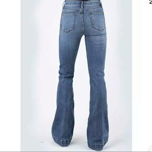 Stetson 921 High Rise Flare Jeans Size 12 Short